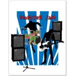 Постер Панк Monster Jam