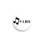 Значок Music = Life