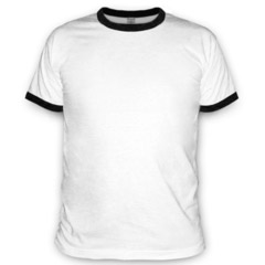 Сделай свою футболку Ringer-T на Printdirect