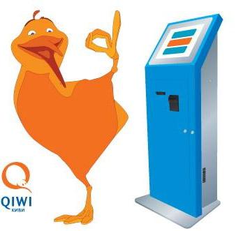 Оплати заказ на Printdirect через терминалы QIWI